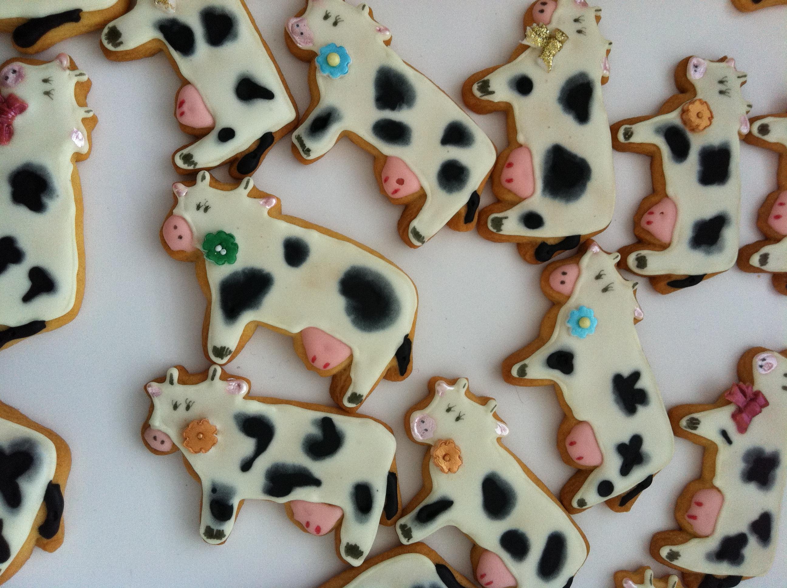 Vaquería de galletas: vacas, vacas y más vacas | Repostería imaginativa