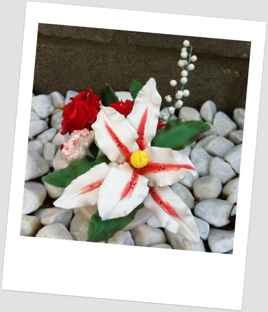 Bouquet de flores con Alma Obregón
