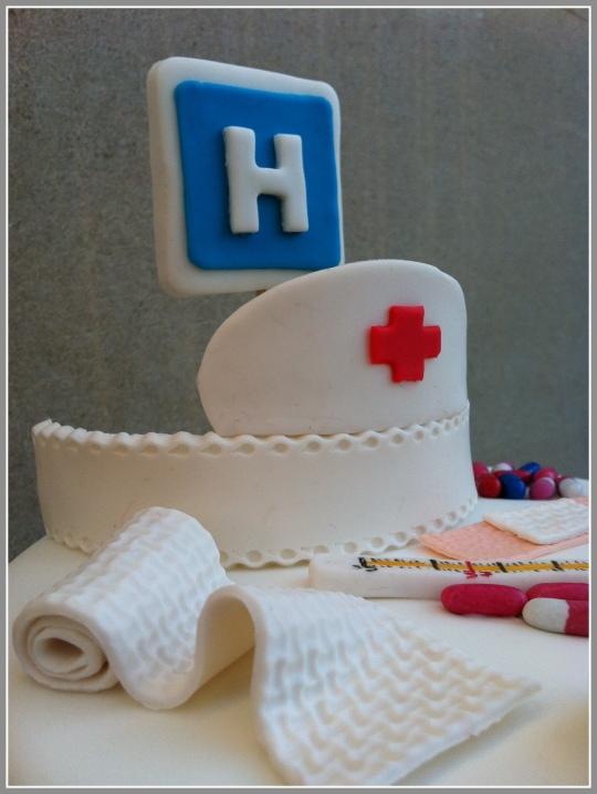 tarta enfermera