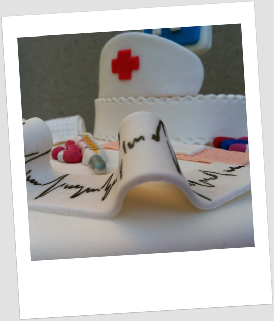 Tarta sala de curas
