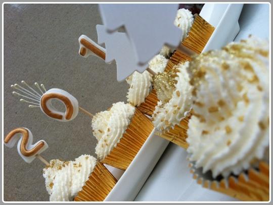 Cupcakes nutella con nata