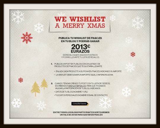 Wishlist Fnac 2013