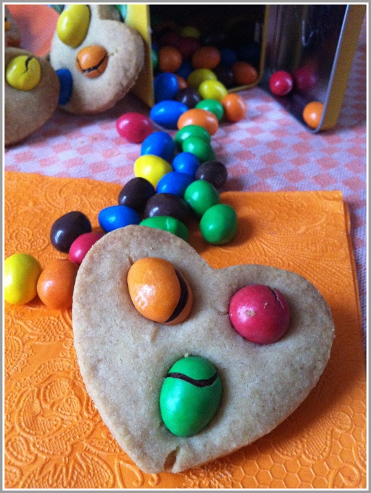 Galletas con M&M'S