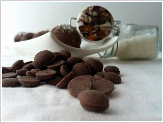 Coquitos con chocolate
