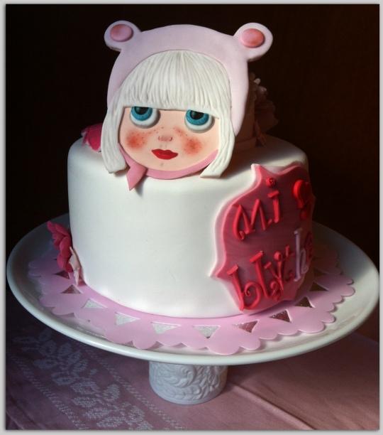 tarta fondat muñeca Blythe