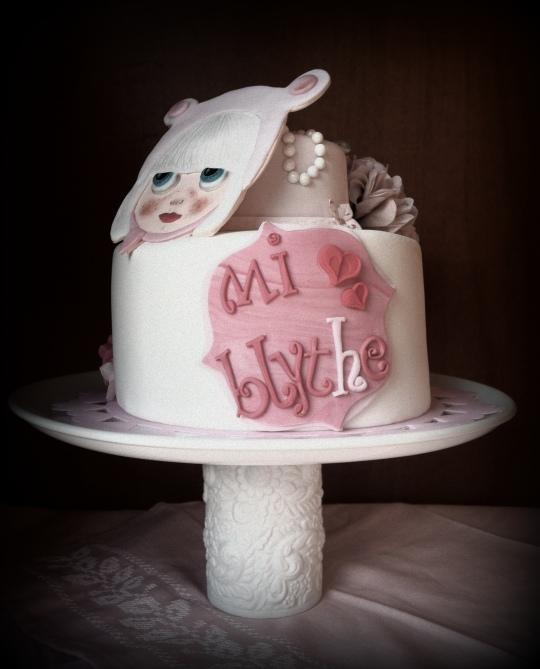 Tarta muñeca Blyhe
