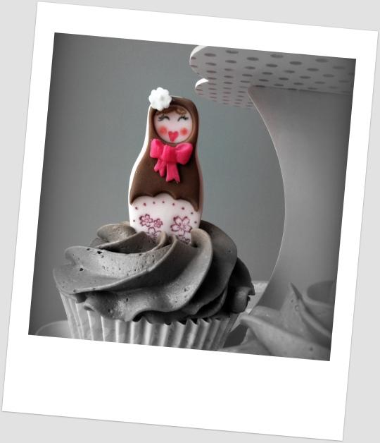 Cupcakes con Nutella de Matriuskas