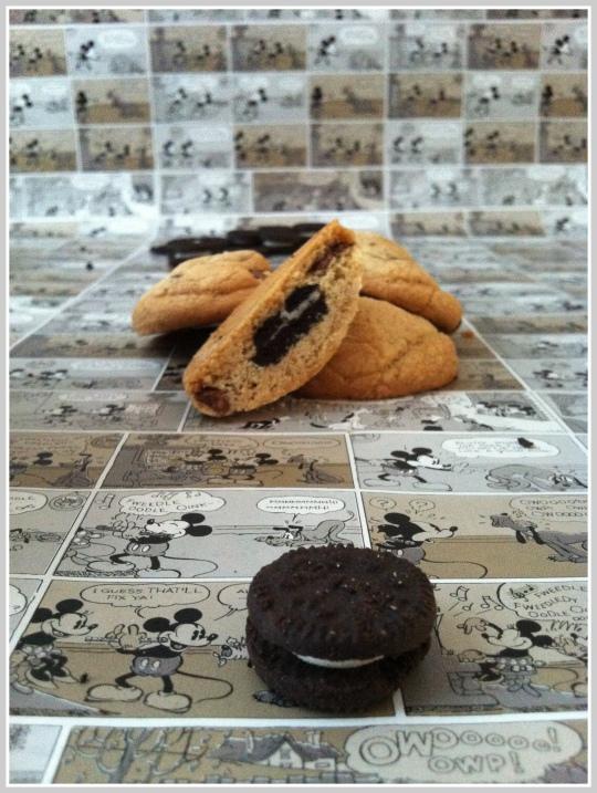 Cookies con Oreo