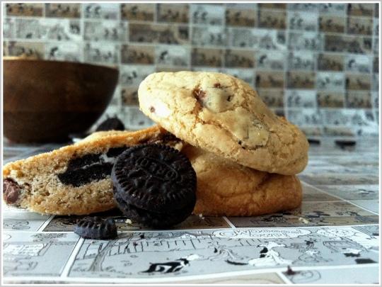 Cookies rellenas de Oreo