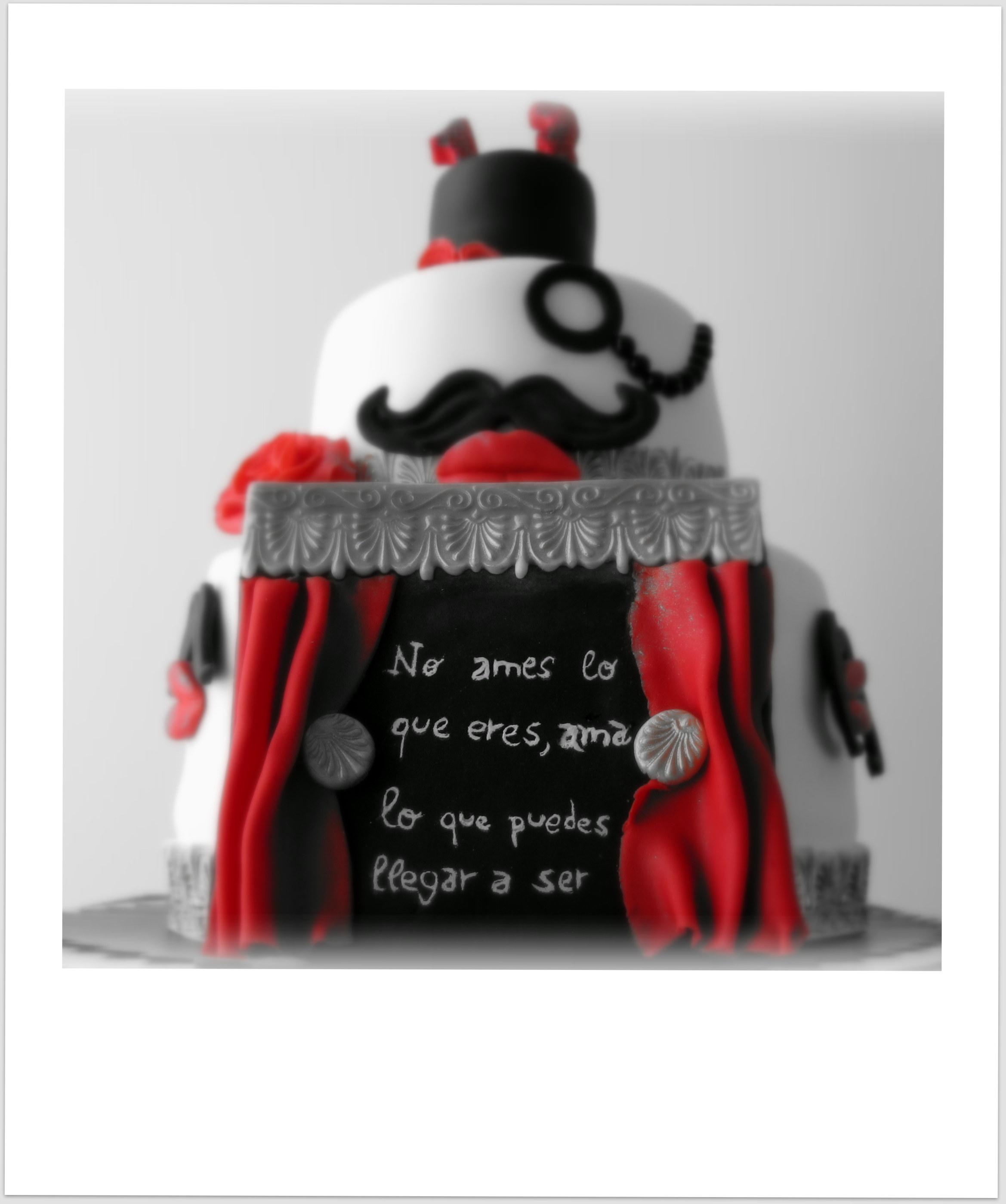 tarta dos pisos   Repostería imaginativa
