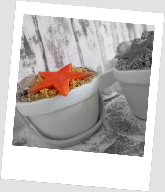 Minitartas conchas de mar