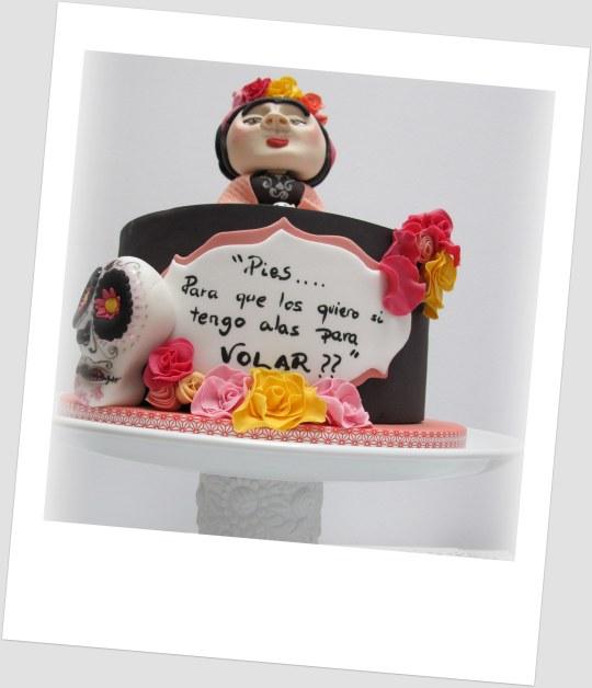 Curso de tarta Frida con Tartarte