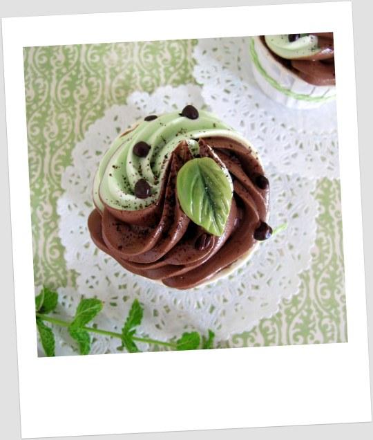Cupcakes de choco-menta