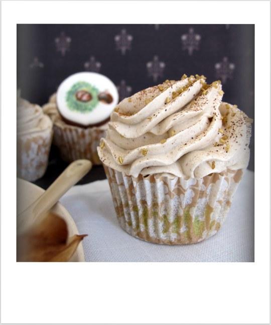 Cupcakes de castañas
