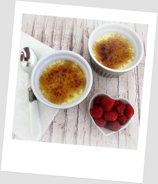 Crema de queso mascarpone con frambuesas
