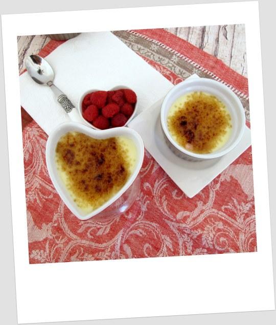 Crema mascarpone con frambuesas