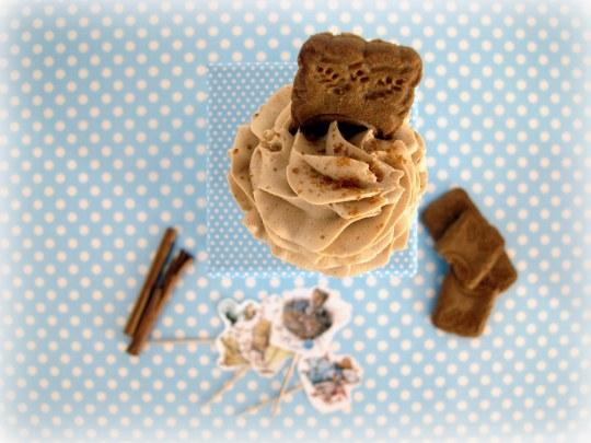 Cupcakes d galletas Spéculoos