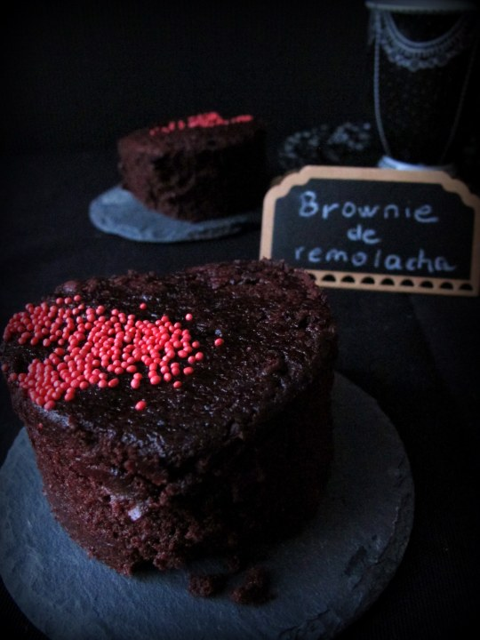 Brownie remolacha chocolate