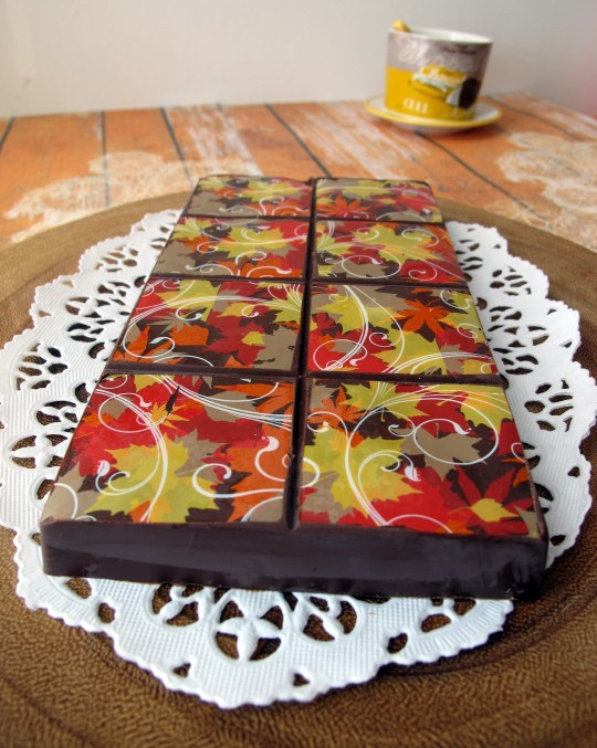 Receta turrón chocolate con muesli