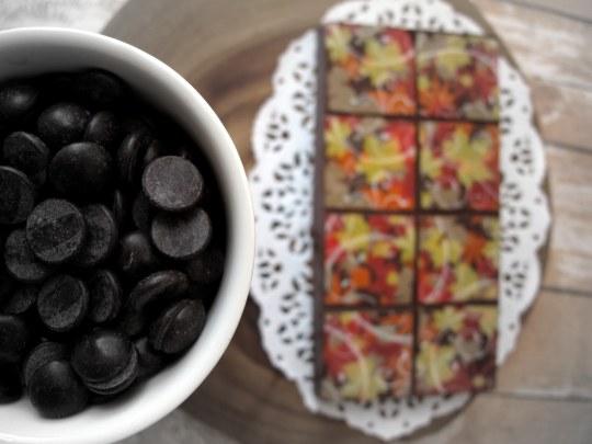 Receta de turrón de chocolate con muesli y frutos secos