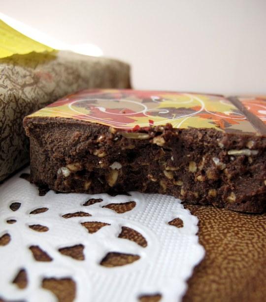 Turrón de chocolate con chocotransfer