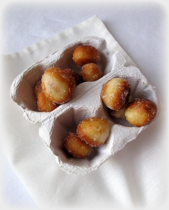 palomitas de buñuelo de fresa