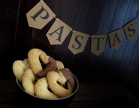 Pastas  caseras con chocolate para San Valentín