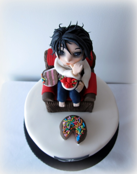 Death Note Cake