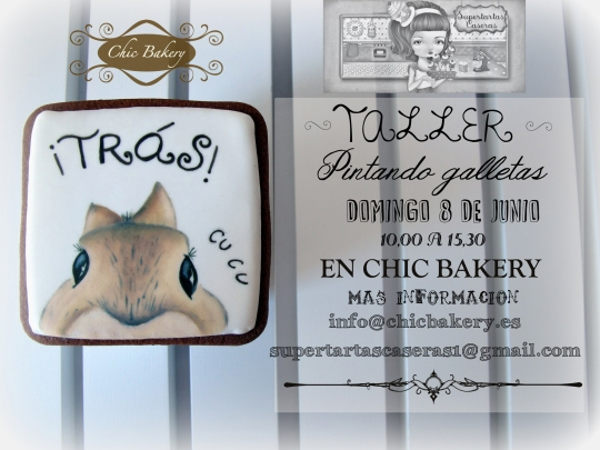 Cartel Galletas pintadas 0806 chic