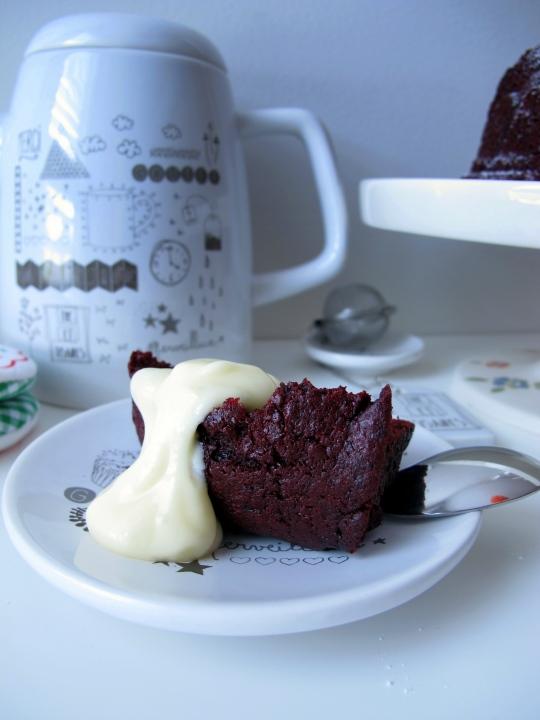 Bundt Cake Red Velvet
