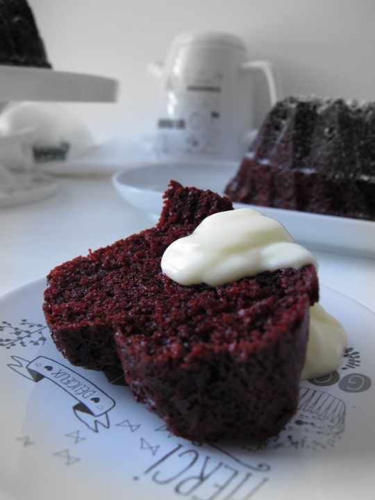 Bund cake rojo red velvet