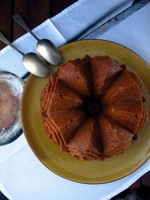 Bund Cake de turrón de jijona